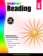 Spectrum Reading Workbook, Grade 6 - Spectrum