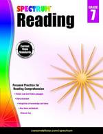 Spectrum Reading Workbook, Grade 7 - Spectrum