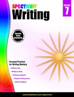 Spectrum Writing, Grade 7 - Spectrum