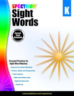 Spectrum Sight Words, Grade K - Spectrum