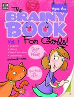 Brainy Book for Girls, Volume 1 Activity Book - Thinking Kids