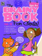 Brainy Book for Girls, Volume 2 Activity Book - Thinking Kids