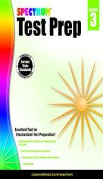 Spectrum Test Prep, Grade 3 - Spectrum