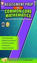 Assessment Prep for Common Core Mathematics, Grade 7 - Karise Mace