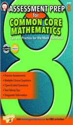 Assessment Prep for Common Core Mathematics, Grade 8 - Karise Mace