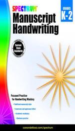 Spectrum Manuscript Handwriting, Grades K - 2 - Spectrum