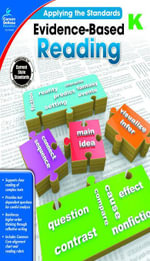 Evidence-Based Reading, Grade K - Carson-Dellosa Publishing