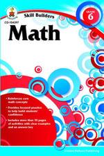 Math, Grade 6 - Carson-Dellosa Publishing
