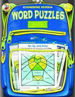 Word Puzzles, Grades K - 1 - Frank Schaffer Publications