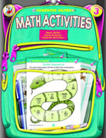 Math Activities, Grade 3 - Frank Schaffer Publications