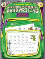 Beginning Manuscript Handwriting, Grade K - Frank Schaffer Publications
