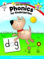 Phonics for Kindergarten, Grade K - Carson-Dellosa Publishing