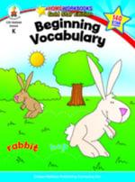 Beginning Vocabulary, Grade K - Carson-Dellosa Publishing