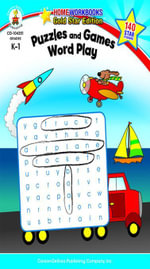 Puzzles and Games : Word Play, Grades K - 1 - Carson-Dellosa Publishing