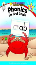 Phonics for First Grade, Grade 1 - Carson-Dellosa Publishing