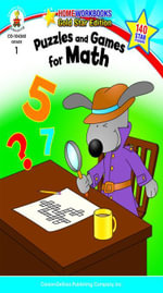 Puzzles and Games for Math, Grade 1 - Carson-Dellosa Publishing