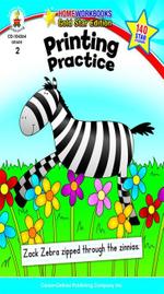 Printing Practice, Grade 2 - Carson-Dellosa Publishing