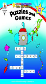 Puzzles and Games, Grade 2 - Carson-Dellosa Publishing