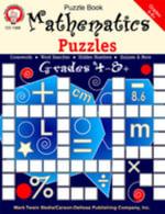 Mathematics Puzzles, Grades 4 - 8 - Mark Twain Media