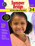 Summer Bridge Explorations, Grades 3 - 4 - Summer Bridge Activities