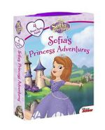 Sofia the First Sofia's Princess Adventures : Board Book Boxed Set - Disney Book Group