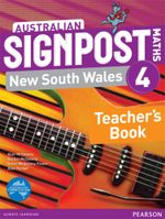 Australian Signpost Maths New South Wales 4 Teacher's Book - Alan McSeveny
