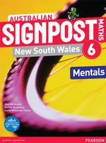Australian Signpost Maths New South Wales 6  : Mentals Book - Australian Curricullum - Alan McSeveny