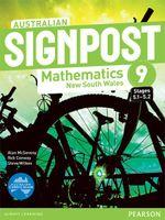 Australian Signpost Mathematics New South Wales 9 (5.1-5.2) : Student Book - Australian Curriculum - Alan McSeveny