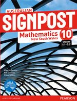 Australian Signpost Mathematics New South Wales 10 (5.1-5.2)  : Student Book - Australian Curriculum - Alan McSeveny