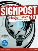 Australian Signpost Mathematics New South Wales 10 (5.1-5.3)  : Student Book - Australian Curriculum - Alan McSeveny