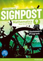 Australian Signpost Mathematics New South Wales 9 (5.1-5.2) : Homework Program - Australian Curricullum - David Barton