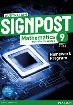 Australian Signpost Mathematics New South Wales 9 (5.1-5.3)  : Homework Program - Australian Curricullum - David Barton