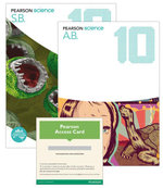 Pearson Science 10  : Student Book/Activity Book/eBook 3.0 Combo Pack - Australian Curricullum - Greg Rickard