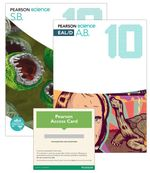 Pearson Science 10  : Student Book/EAL/D Activity Book/eBook 3.0 Combo Pack - Australian Curriculum - Greg Rickard