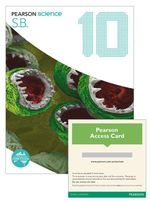 Pearson Science 10  : Student Book/eBook 3.0 Combo Pack - Australian Curricullum - Greg Rickard