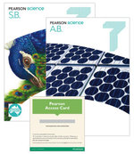 Pearson Science 7  : Student Book/Activity Book/eBook 3.0 Combo Pack - Australian Curricullum - Greg Rickard