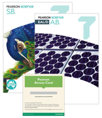 Pearson Science 7  : Student Book/EAL/D Activity Book/eBook 3.0 Combo Pack - Australian Curriculum - Greg Rickard
