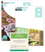 Pearson Science 8 : Student Book/EAL/D Activity Book/eBook 3.0 Combo Pack - Australian Curriculum - Greg Rickard