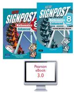 New Signpost Mathematics Enhanced 8 Stage 4 Combo Pack : Student Book/Workbook/eBook 3.0  - Alan McSeveny