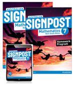 Australian Signpost Mathematics New South Wales 7  : Student Book/Homework Program/eBook 3.0 Combo Pack - Australian Curricullum - Alan McSeveny