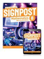 Australian Signpost Mathematics New South Wales 8  : Student Book/eBook 3.0 Combo Pack - Australian Curricullum - Alan McSeveny