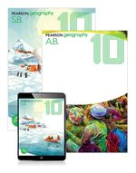 Pearson Geography 10 Student Book/Activity Book/eBook 3.0 Combo Pack - Kleeman, Grant Et Al