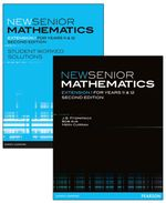 New Senior Mathematics Extension 1  : Student Textbook and Worked Solutions Value Pack - J. B. Fitzpatrick