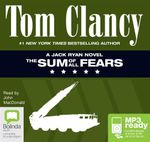 The Sum Of All Fears (MP3) - Tom Clancy