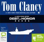 Debt Of Honor (MP3) : Jack Ryan #7 - Tom Clancy