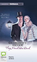 They Found Him Dead : Inspector Hannasyde - Georgette Heyer