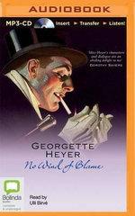 No Wind of Blame : Inspector Hemingway - Georgette Heyer