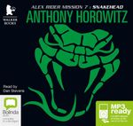 Snakehead (MP3) - Anthony Horowitz