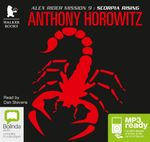 Scorpia Rising (MP3) : Alex Rider #9 - Anthony Horowitz