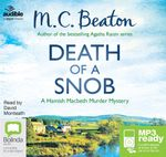 Death Of A Snob (MP3) : Hamish Macbeth #6 - M. C. Beaton